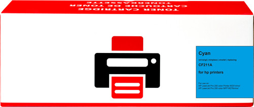 Pixeljet 131A Toner Cyaan voor HP printers (CF211A) Main Image