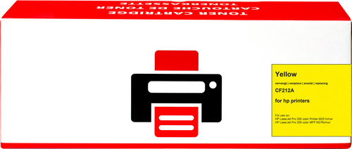 Pixeljet 131A Toner Yellow for HP printers (CF212A) Main Image