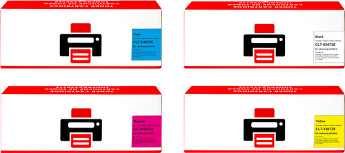 Pixeljet CLT-P4072C 4-Color Pack for Samsung printers Main Image