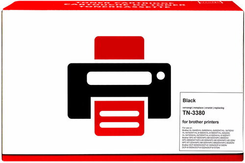 Pixeljet TN-3380 Toner Cartridge Black XL for Brother printers (TN-3380) Main Image