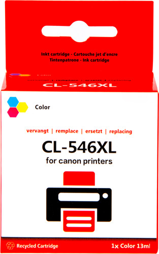 Pixeljet CL-546 Tri-color XL for Canon printers (8288B001) Main Image