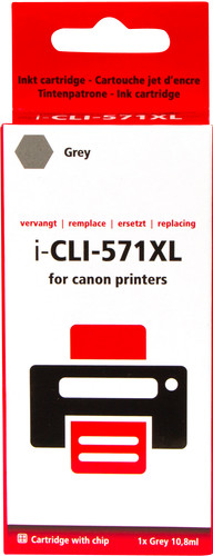 Pixeljet CLI-571XL Gray for Canon printers (0335C001) Main Image