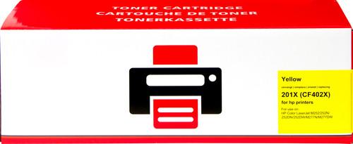 Pixeljet 201X Toner Cartridge Yellow XL for HP printers (CF402X) Main Image