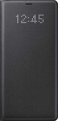 Samsung Galaxy Note 8 LED View Cover Black Main Image