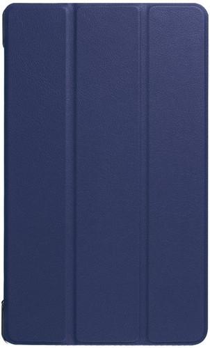 Just in Case Lenovo Tab 4 8 Smart Tri-Fold Case Blauw Main Image