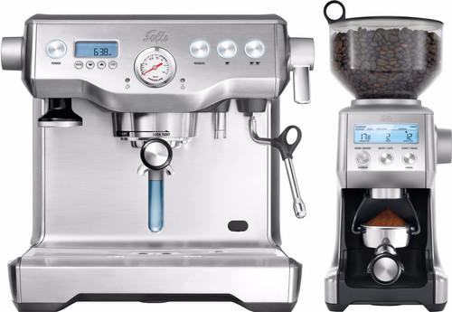 Solis Barista Triple Heat + Caffissima Digital Coffee Grinder Main Image