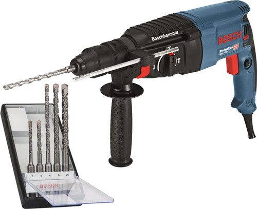 Bosch GBH 2-26 F + SDS-plus drill set Main Image