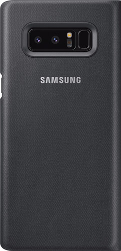 buy online 2536a 71f8e Samsung Galaxy Note 8 LED View Cover Black