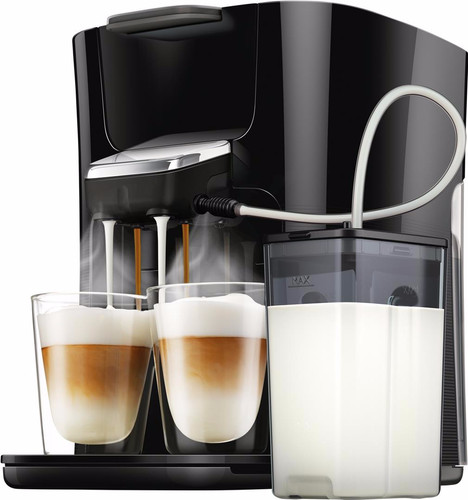 Extreem Philips Senseo Latte Duo HD6570/60 Zwart - Coolblue - Voor 23.59u KK64