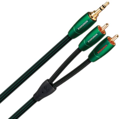 AudioQuest Evergreen 3,5 mm naar RCA 1 meter Main Image
