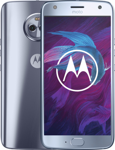 Motorola Moto X4 Zilver Main Image