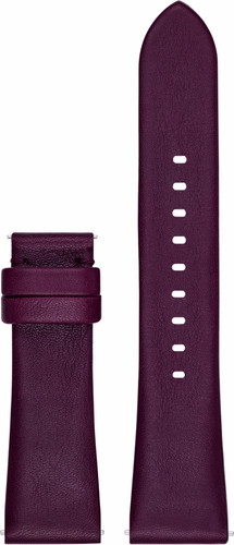 3d3a52d1c7b Michael Kors Access 22mm Leren Horlogeband Paars - Coolblue - Voor ...