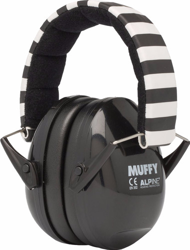 Alpine Muffy Earmuff Black Main Image