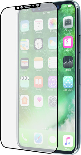 Azuri Curved Case Friendly Apple iPhone 11 Pro/Xs/X Screen Protector Glass Black Edge Main Image