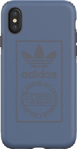 adidas Techink Apple iPhone X Back Cover Blauw Main Image