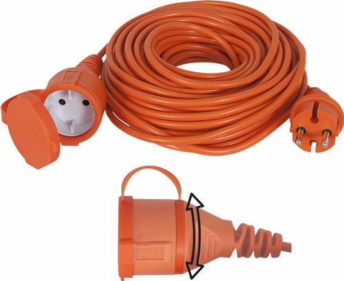 Exin Garden Extension Cord 20m 2x1.0mm2 IP44 Main Image