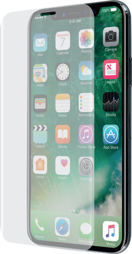 the best attitude a8c1d 6cb4a Azuri Apple iPhone X/Xs Screen Protector Curved Tempered Glass Duo Pack