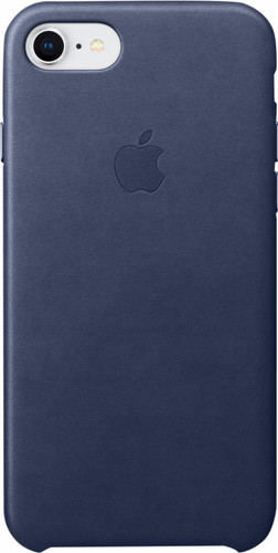 Apple iPhone 7/8 Leather Back Cover Cosmos Blue Main Image