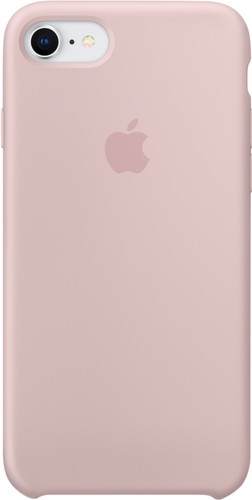 Apple iPhone 7/8 Silicone Back Cover Pink Sand Main Image