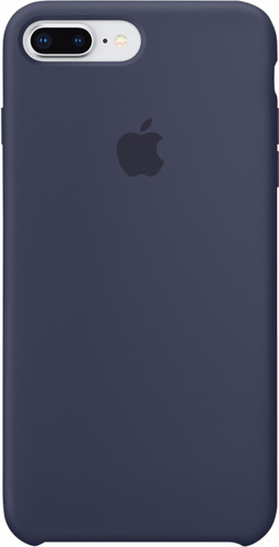 Apple iPhone 7 Plus/8 Plus Silicone Back Cover Midnight Blue Main Image