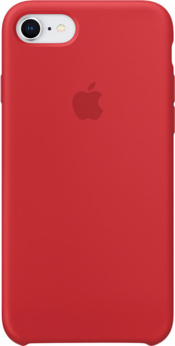 Apple iPhone 7/8 Silicone Back Cover (PRODUCT)RED Main Image