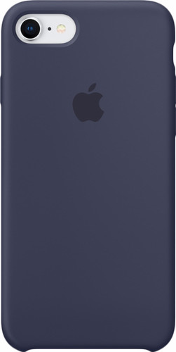 Apple iPhone 7/8 Silicone Back Cover Midnight Blue Main Image