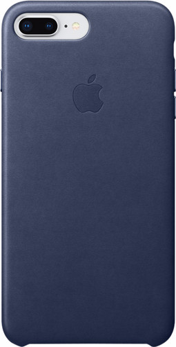 Apple iPhone 7 Plus/8 Plus Leather Back Cover Cosmos Blue Main Image