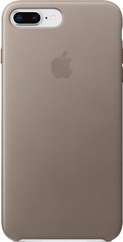 Apple iPhone 7 Plus/8 Plus Leather Back Cover Taupe Main Image