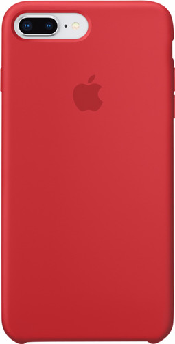 7d236cb27 Apple iPhone 7 Plus 8 Plus Silicone Back Cover (PRODUCT)RED Main Image ...