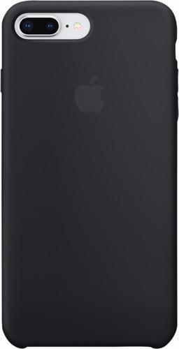 Apple iPhone 7 Plus/8 Plus Silicone Back Cover Black Main Image