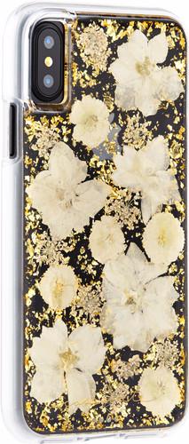 Case-Mate Karat Petals Apple iPhone X Back Cover Gold Main Image