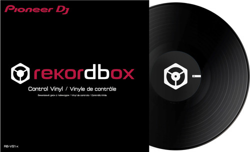 Pioneer RB-VS1-K DVS Control Vinyl Zwart Main Image