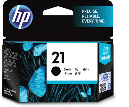 HP 21 Cartridge Black Main Image