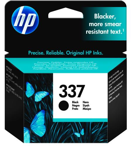 HP 337 Cartridge Zwart Main Image