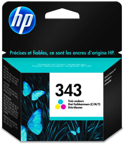 HP 343 Cartridges Combo Pack Main Image