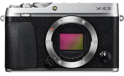 Fujifilm X-E3 Body Zilver Main Image