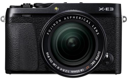 Fujifilm X-E3 Zwart + XF 18-55mm f/2.8-40 R LM OIS Main Image