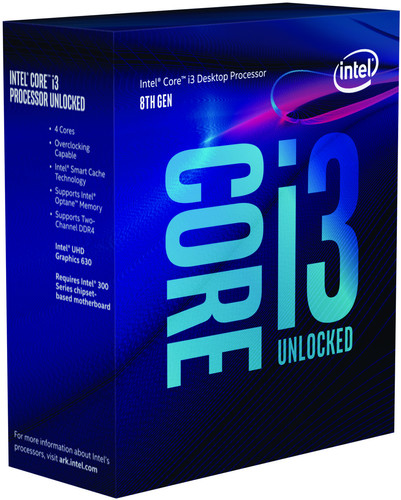 Intel Core i3 8350K Coffee Lake Main Image