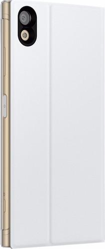 Sony Xperia XA1 Plus Style Stand Book Case White Main Image