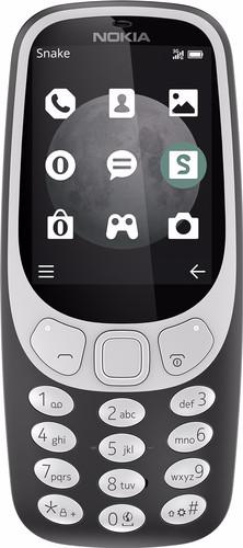 Nokia 3310 3G Grijs Main Image