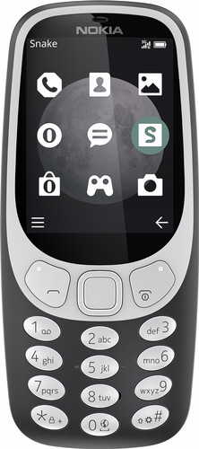 Nokia 3310 3G Gray Main Image