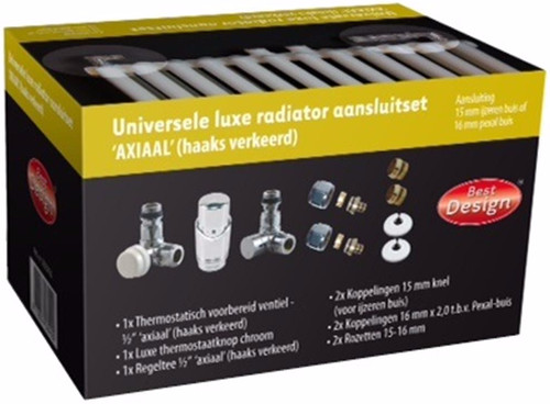 Best Design Universal Luxury Radiator connection set Axial Main Image