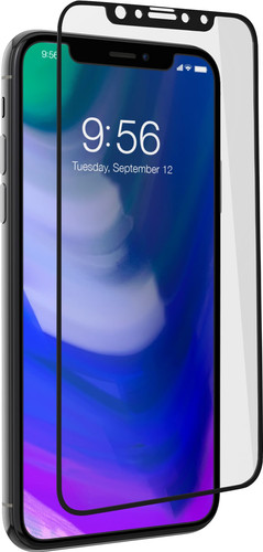 InvisibleShield Contour Apple iPhone X/Xs Screen Protector Glass Black Main Image