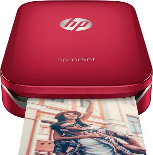 HP Sprocket Z3Z93A Rood Main Image