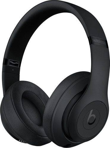 Beats Studio3 Wireless Matzwart Main Image