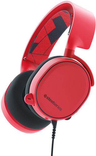 17cc93686cc SteelSeries Arctis 3 2019 Red - Coolblue - Before 23:59, delivered ...
