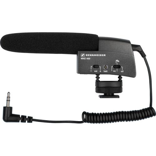 Sennheiser MKE 400 Microfoon Main Image