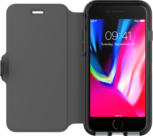 Tech21 Evo Wallet Apple iPhone 7/8 Book Case Black Main Image
