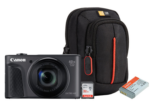Starterskit - Canon Powershot SX730 Zwart Main Image
