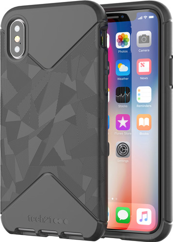 Tech21 Evo Tactical Apple iPhone X/Xs Back Cover Zwart Main Image